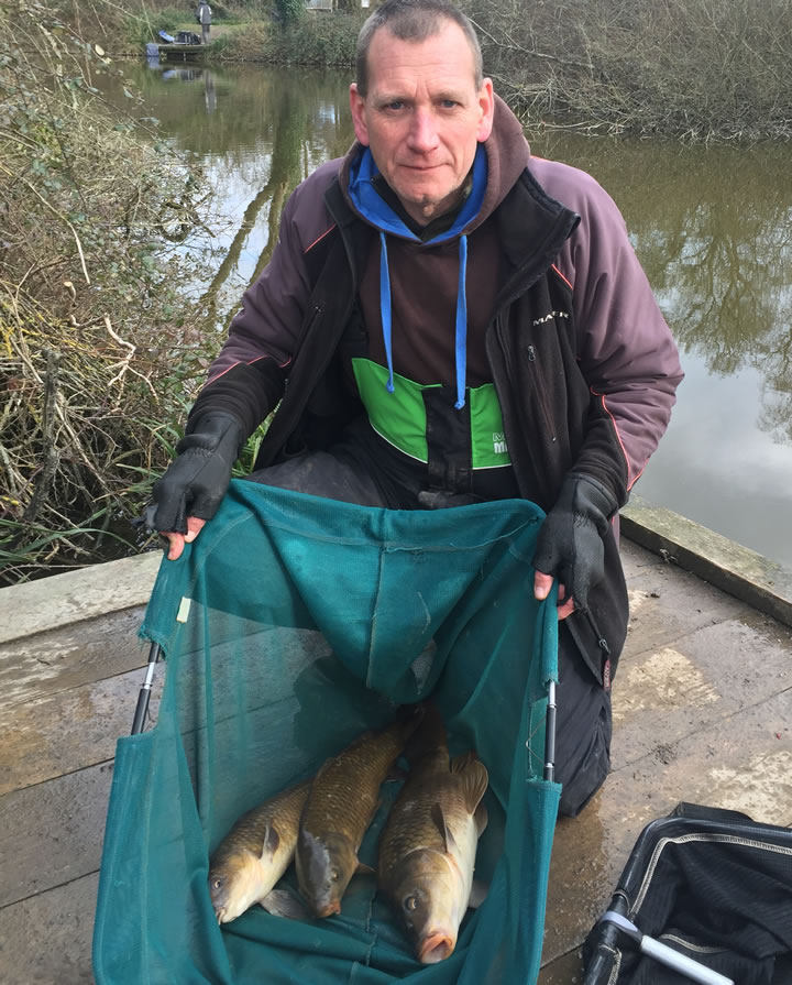 Keith with his Carp from Stemps