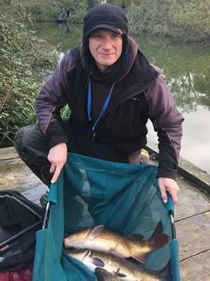 Keith found some better carp