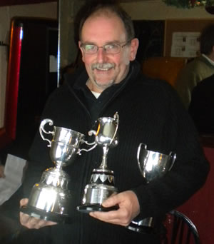 Club Champion Again Vince Herringshaw
