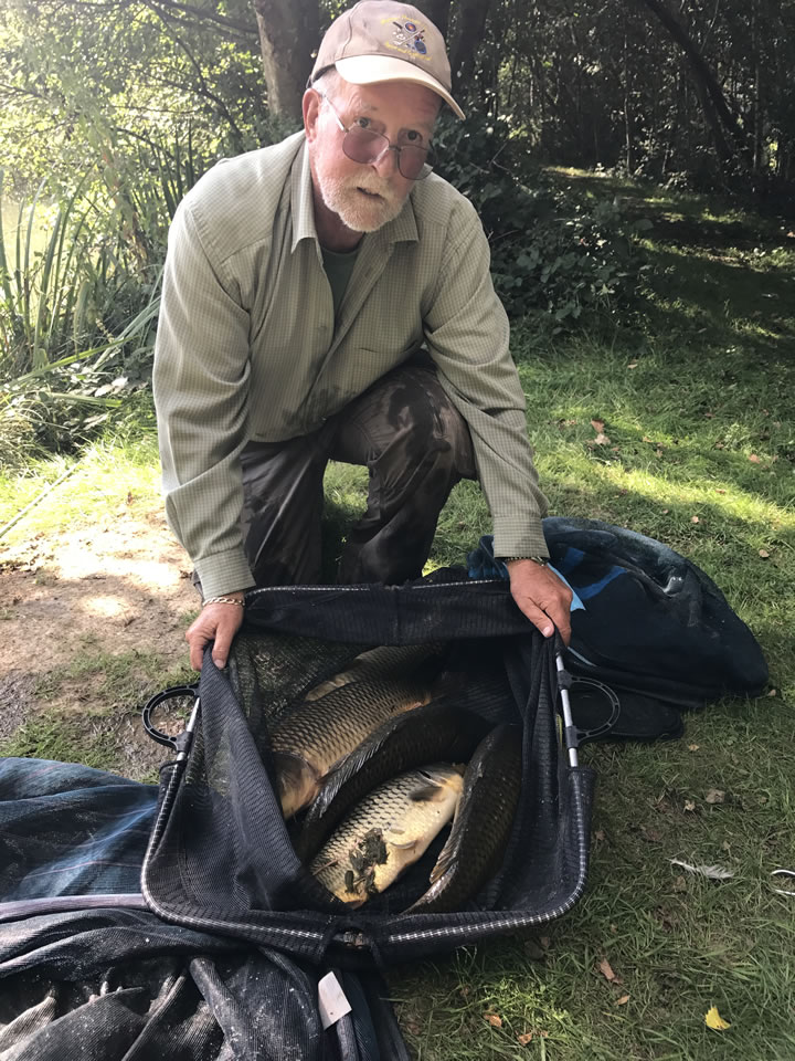 Winner of the Carp Match was Colin