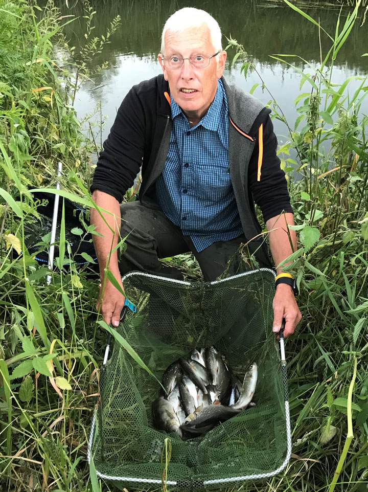 Some nice dace in Mick's winning bag